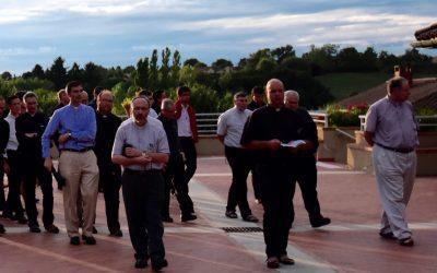 29 juillet au 7 août 2018 : session des prêtres de la SJMV et prêtres regardants